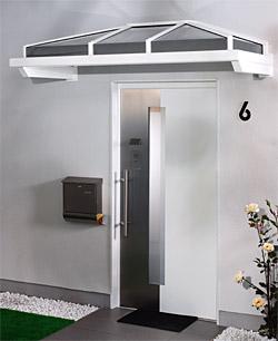 Haustürvordach Mit Seitenteil haustüren nebeneingangstüren und haustürvordächer p p bausysteme